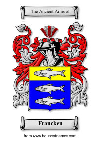 Francken coat of arms
