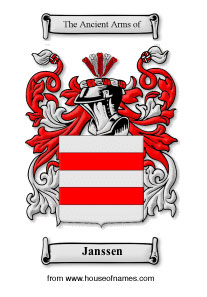 Janssen coat of arms