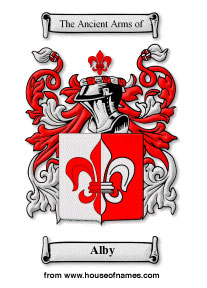 Alby coat of arms