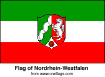 Flag of Nordrhein-Westfalen